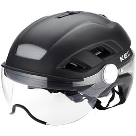 KED B-Vis X-Lite Helmet black matt